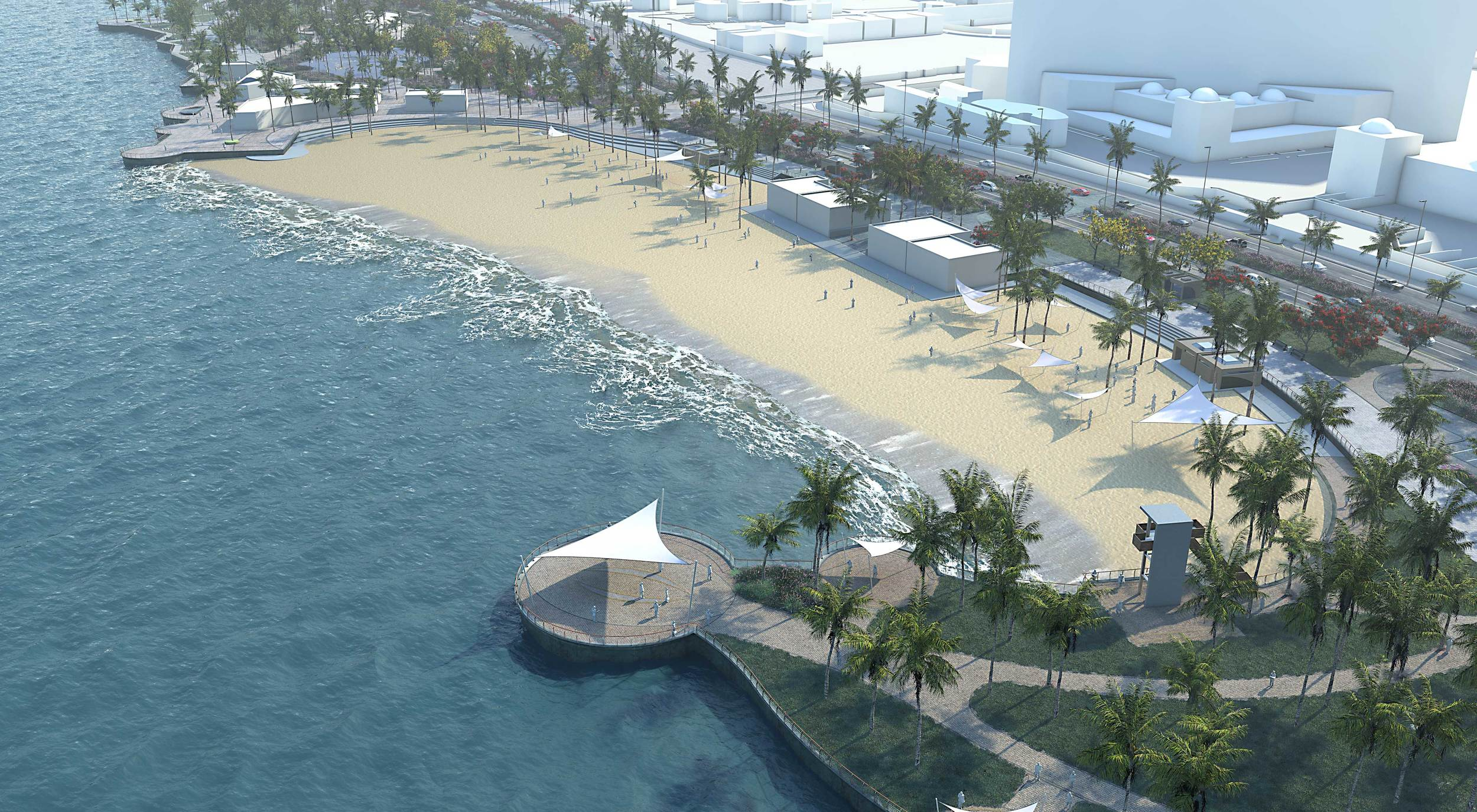 North Corniche Development - Jeddah