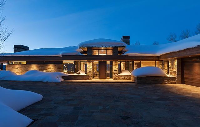 Back to a Colorado mountain retreat project on #traveltuesday
