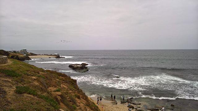San Diego today. La Jolla Cove. #roadtrip #California #whalesvagina