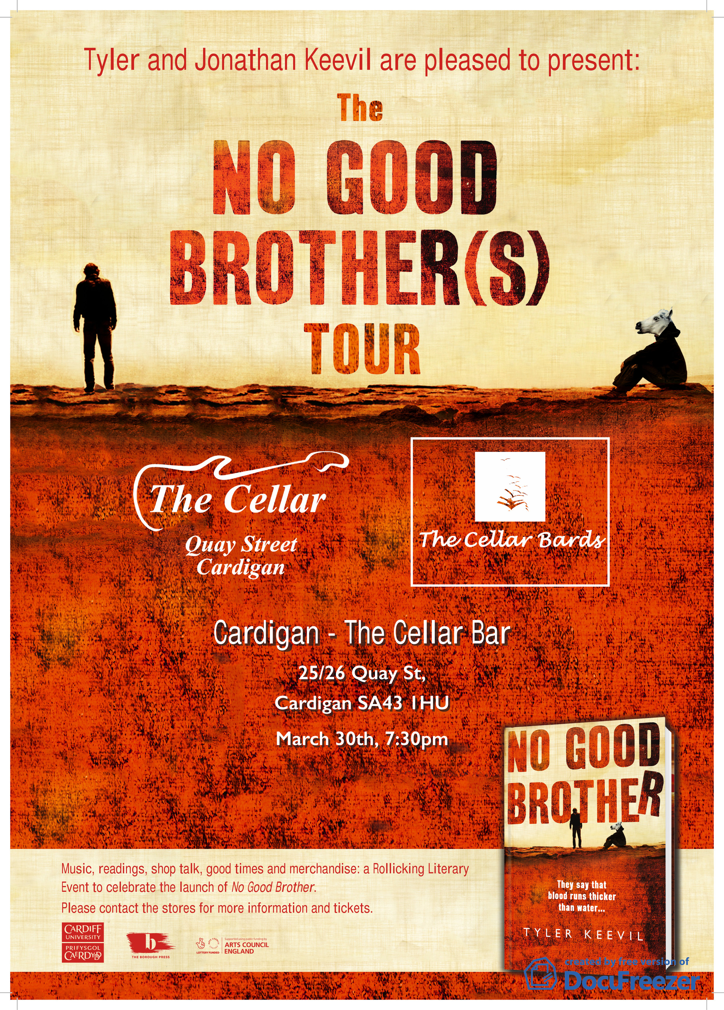 No Good Brother(s) Tour Poster Cellar Bards.jpg
