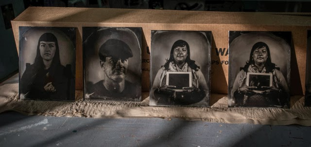 These are some of the images created by photographer William Wilson. His work will be on display through Jan. 31 at the Maxwell Museum on the UNM campus. (Roberto E. Rosales/Albuquerque Journal)