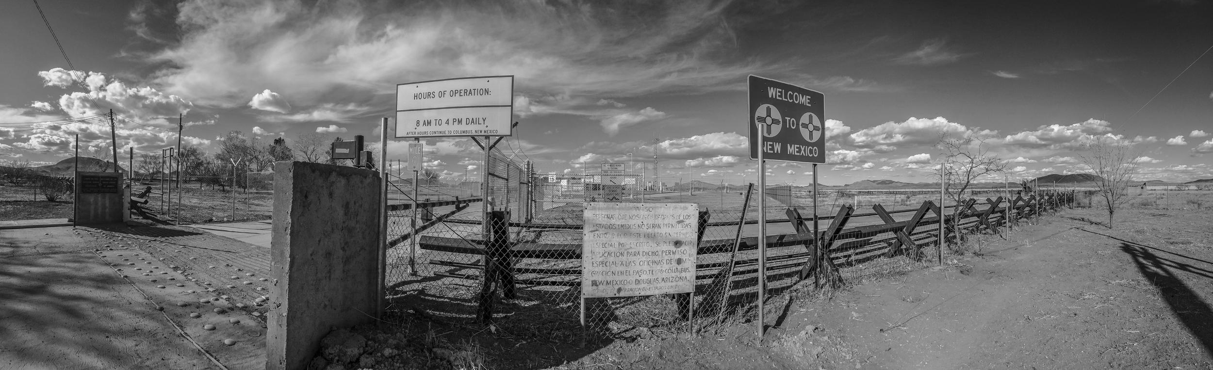 U.S. - Mexico border at Antelope Wells, New Mexico