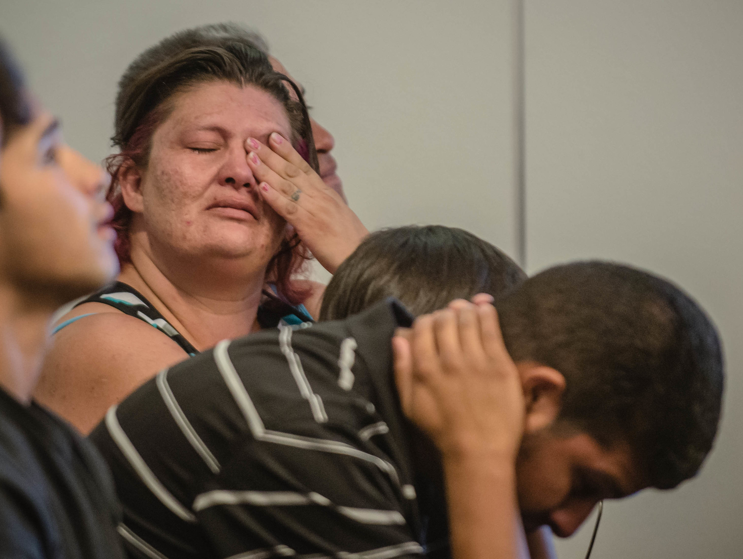 Family members of the teens accused react to hearing the bonds set at 5 million dollars.