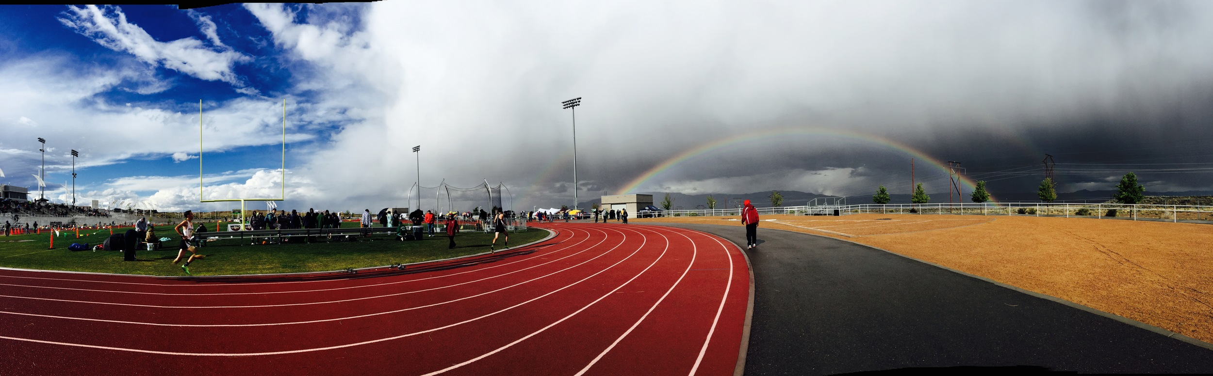 Track and Field meet in Albuquerque's westside.