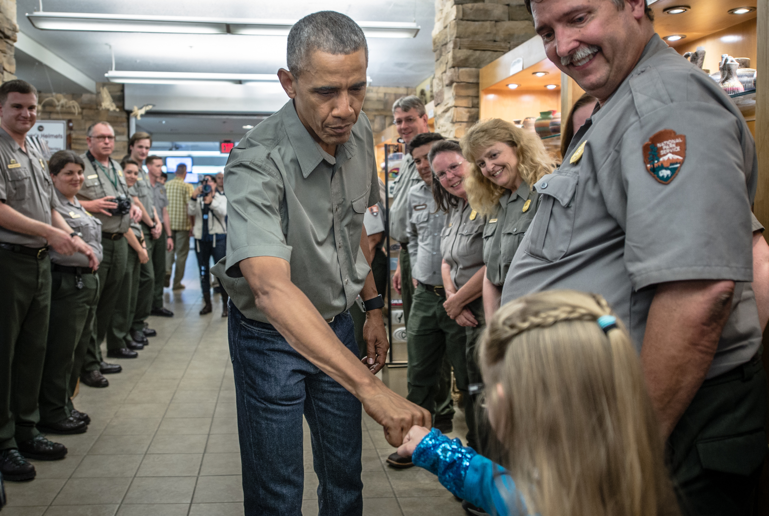 President Obama visits Carlsbad Caverns