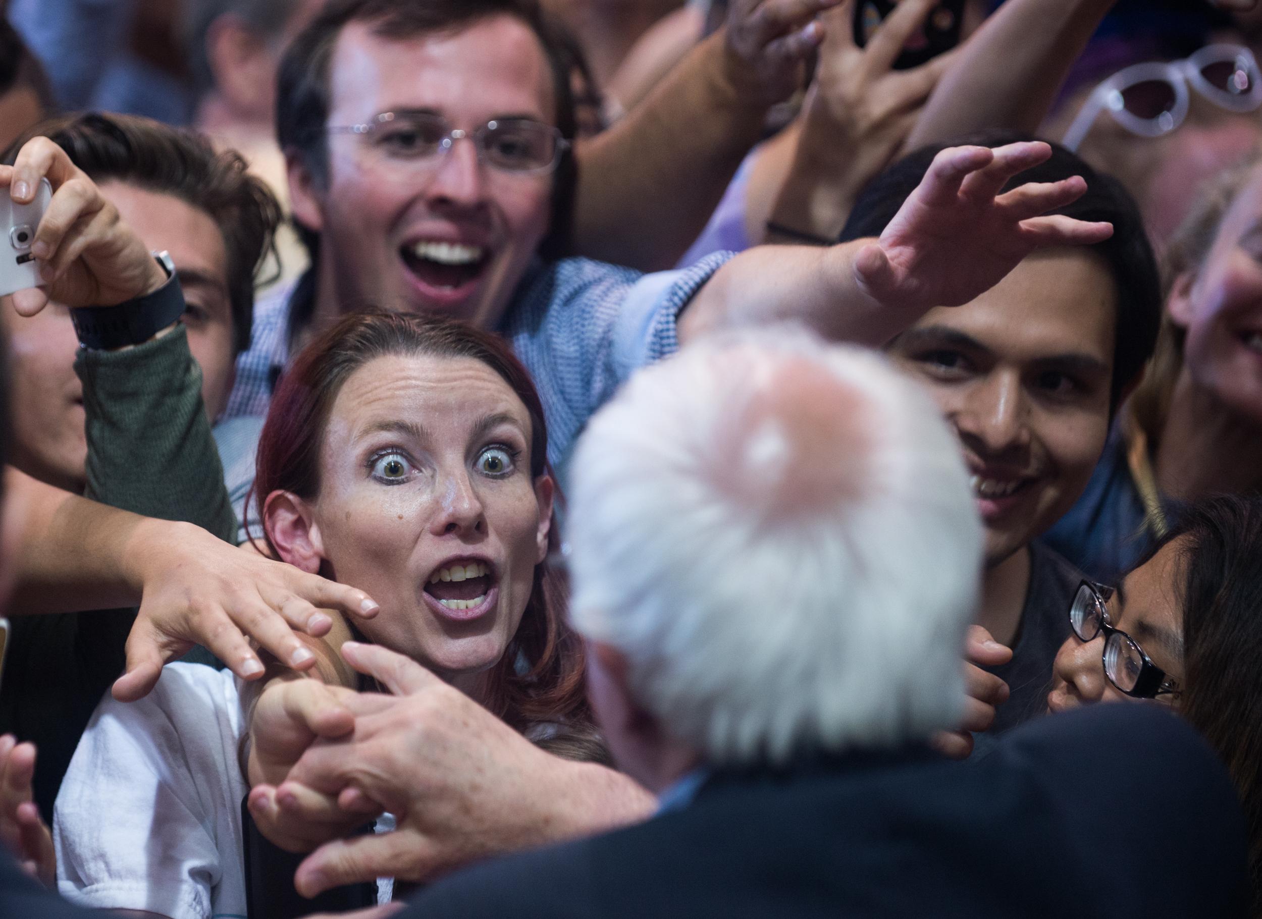 rer Bernie rally.JPG