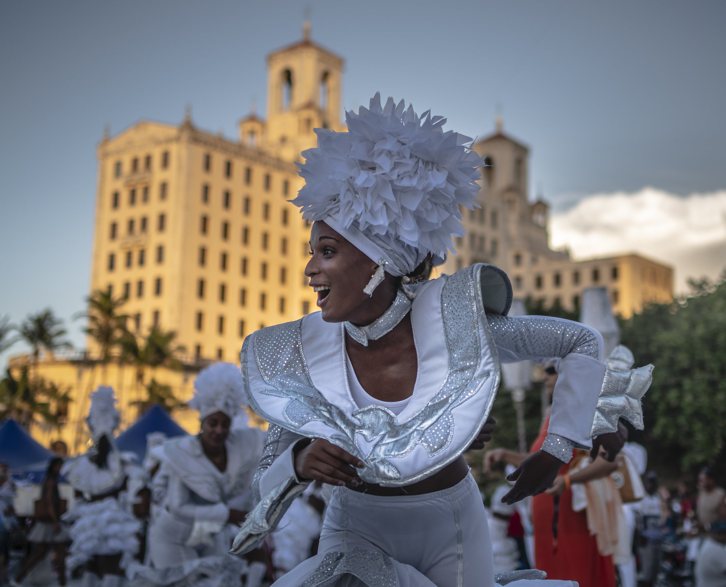 Carnaval in Havana.  July 2019
