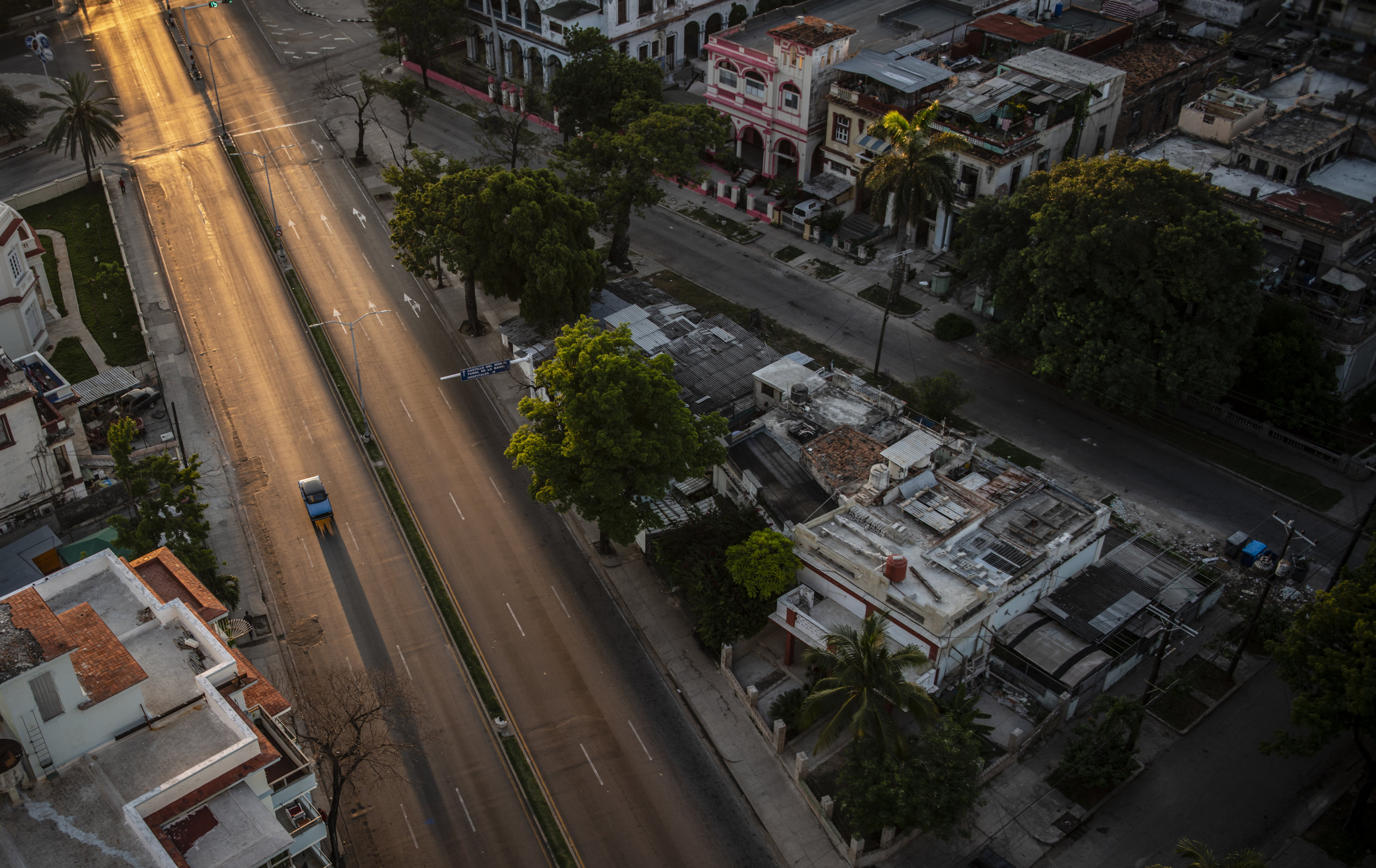 Morning light in Vedado, Cuba.  July 2019
