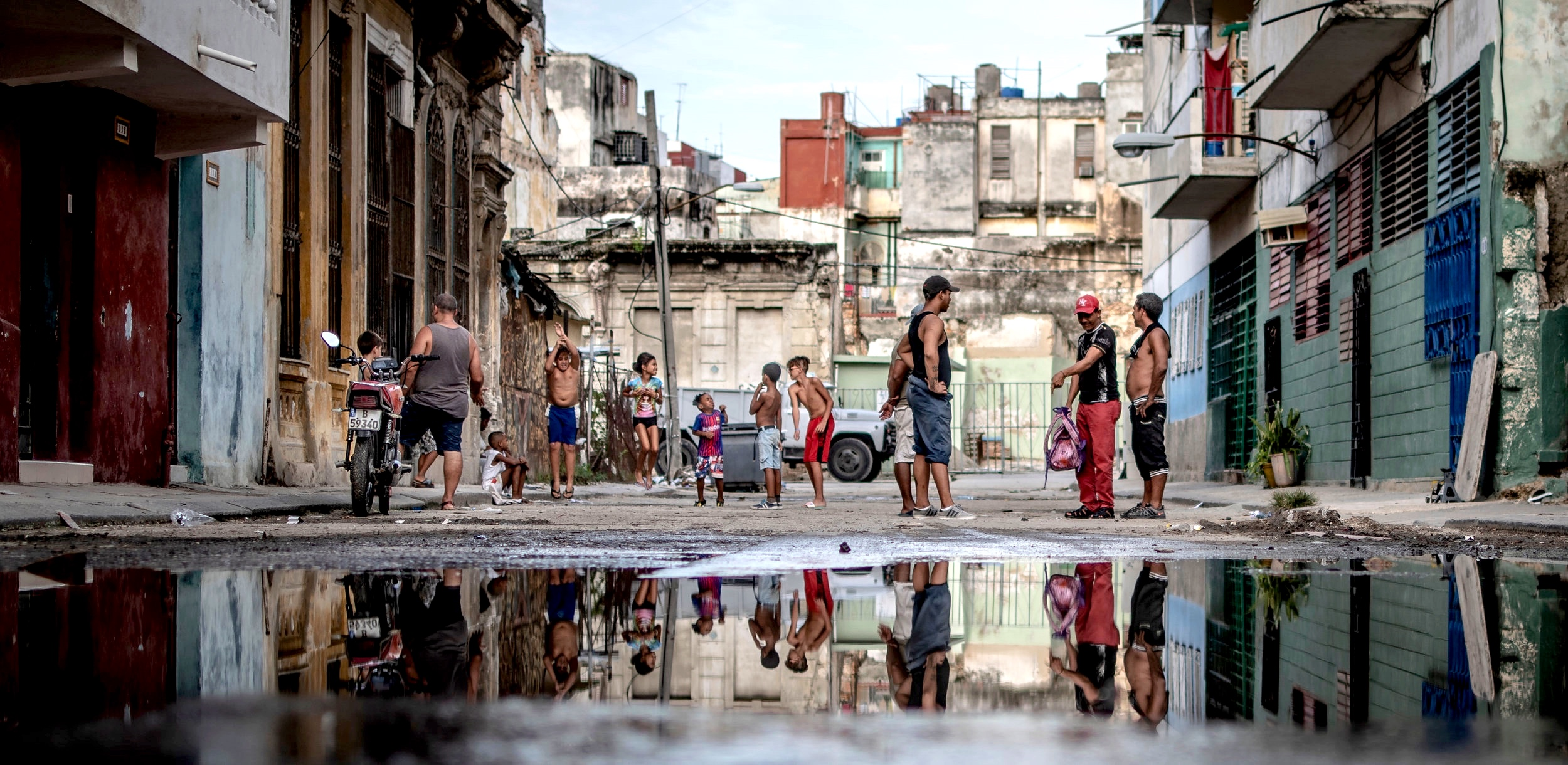 Late afternoon in Old Havana.  July 2019