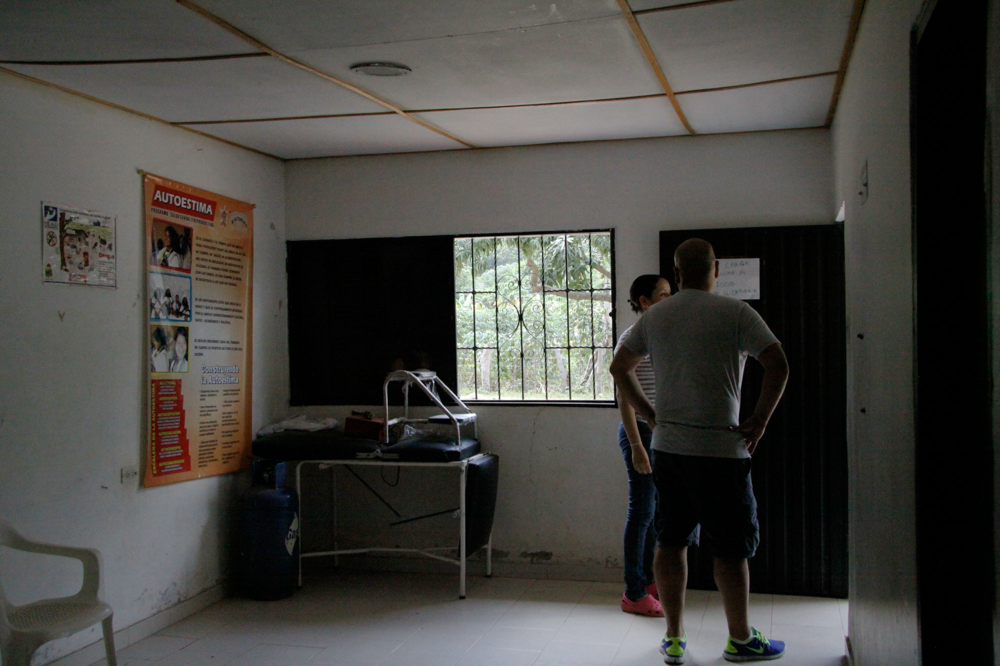 Tour of the Gun Aruwun healthcare center with Dr Pierre Angely, July 2014