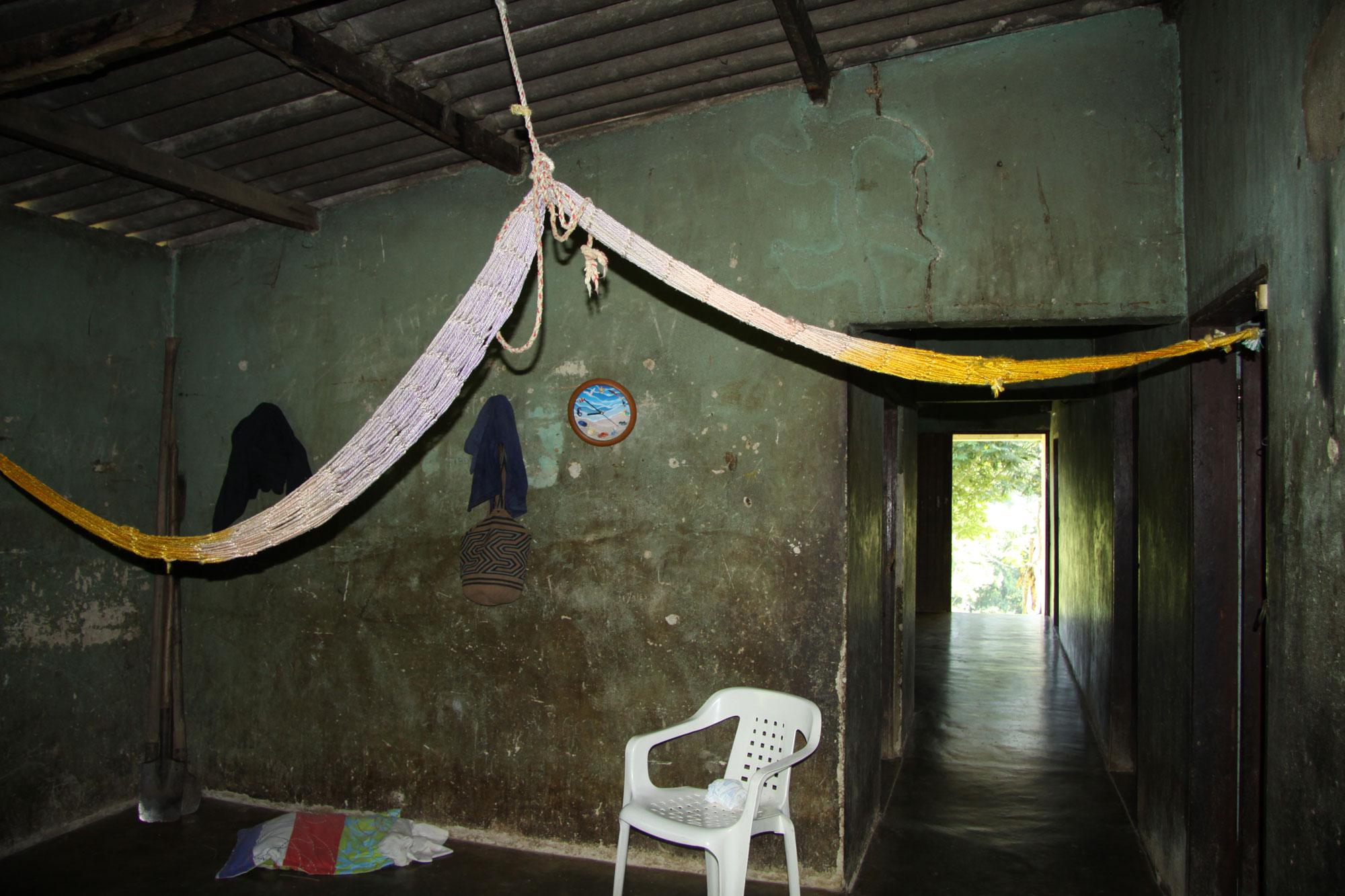 Health post bedroom.