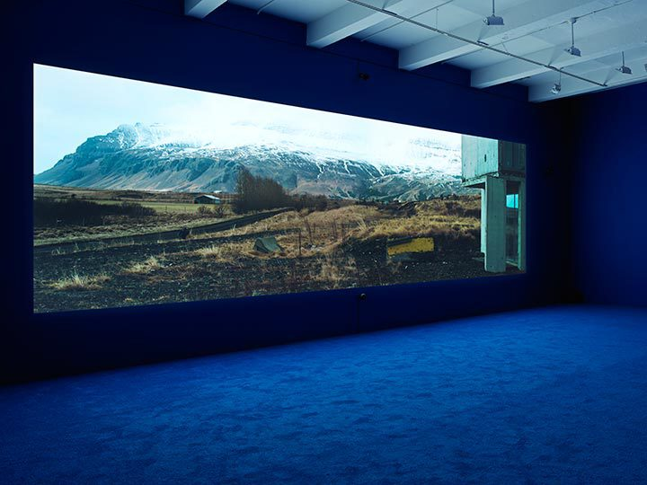 Isaac Julien, PLAYTIME, Installation view Courtesy Metro Pictures
