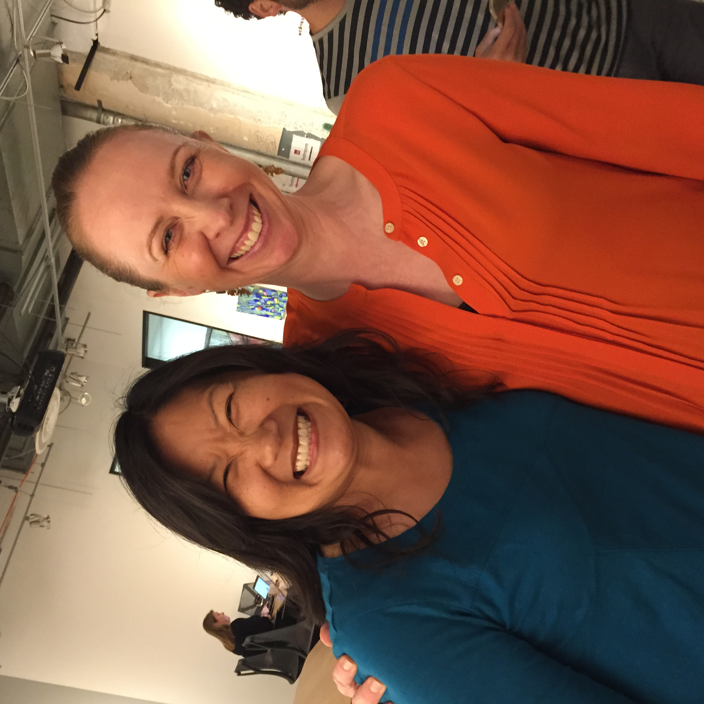 The photo requirement: snap a photo of the two Cabinet members who live in Berkeley.Thanks for representing the East Bay, Esther & Kate!
