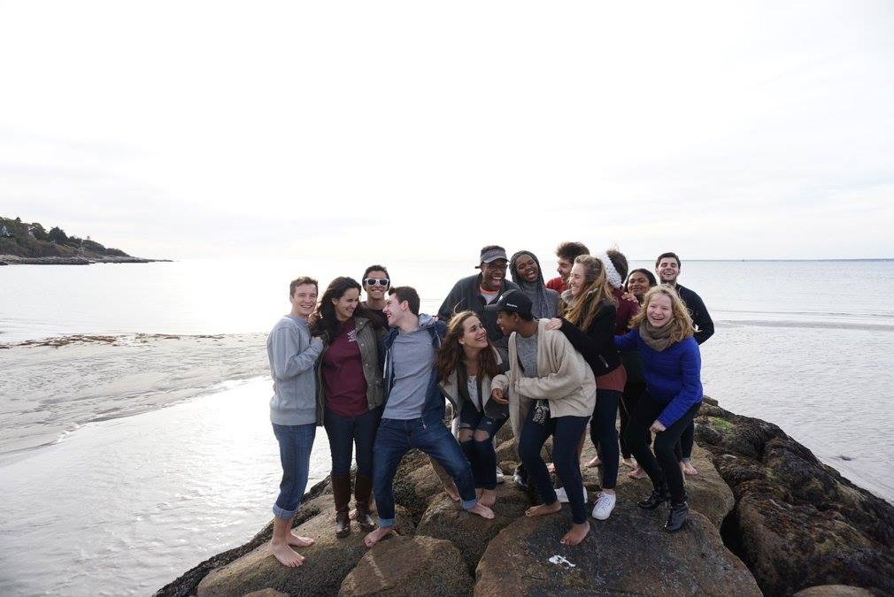 Some Keys posing at our Fall Retreat 2017 in Cape Cod!