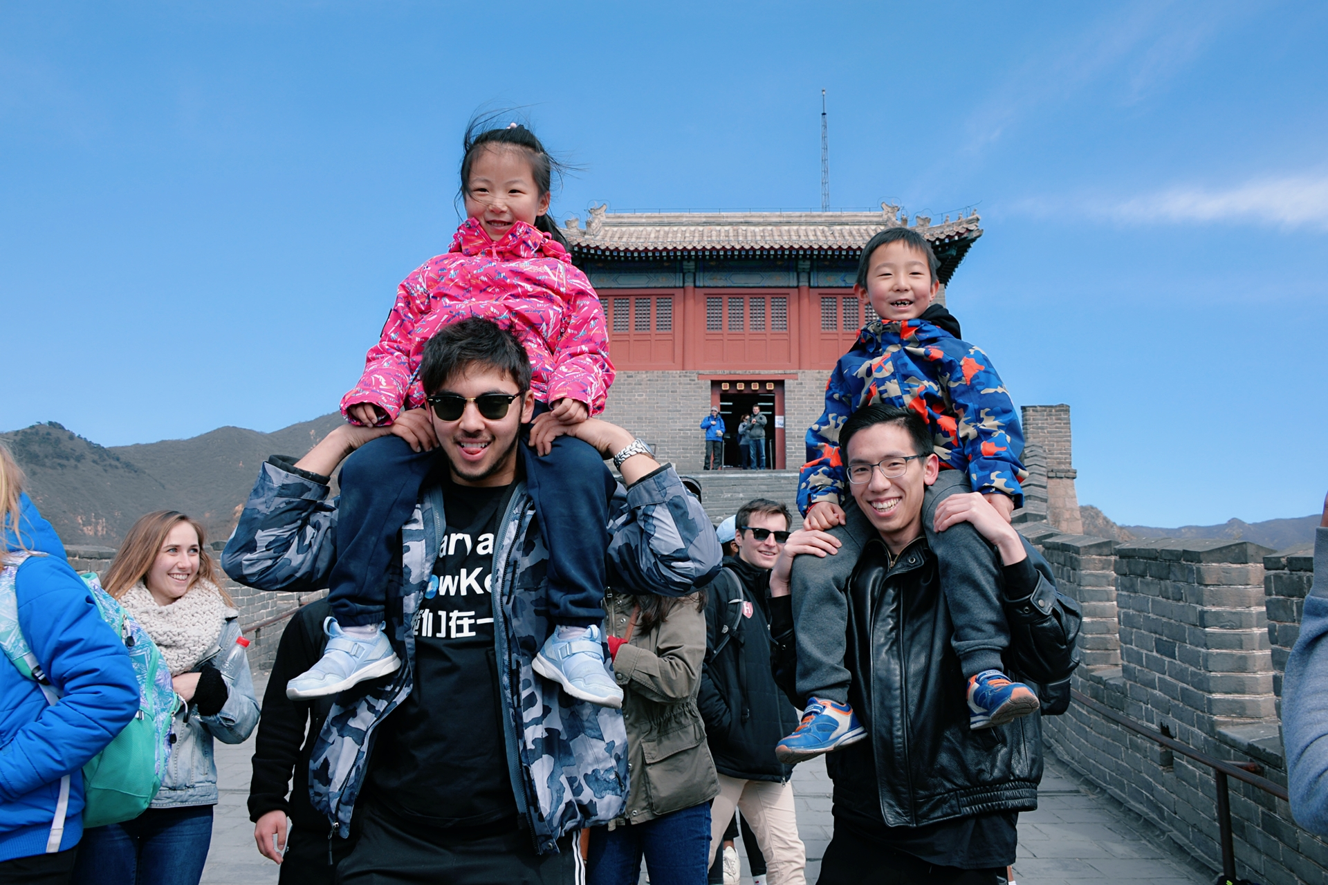 The LowKeys on tour in China!