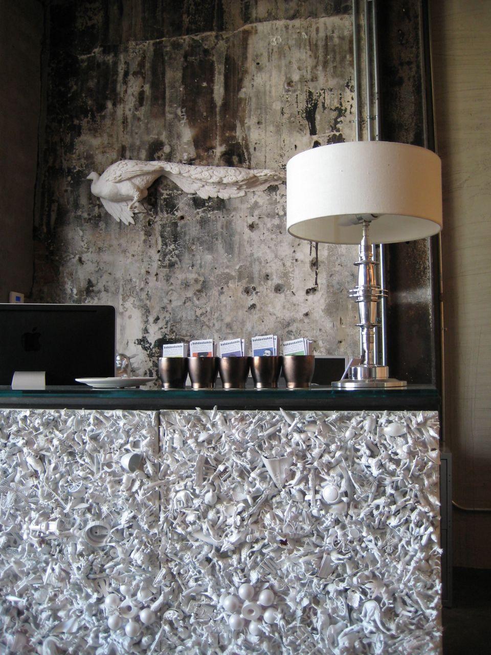 Desk Panels by Rebecca Pulver
