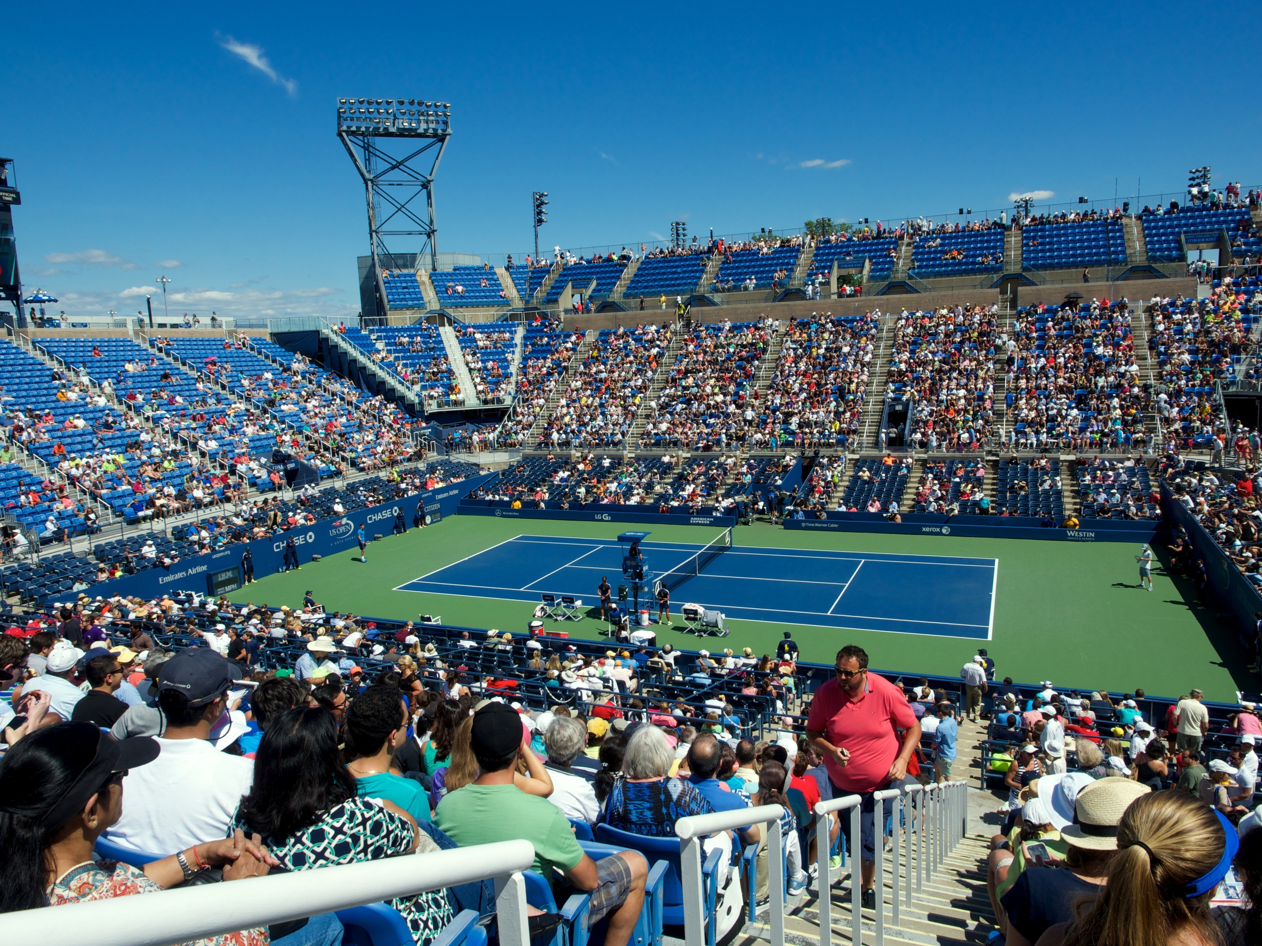 Louis Armstrong Stadium at the US Open Tennis Center