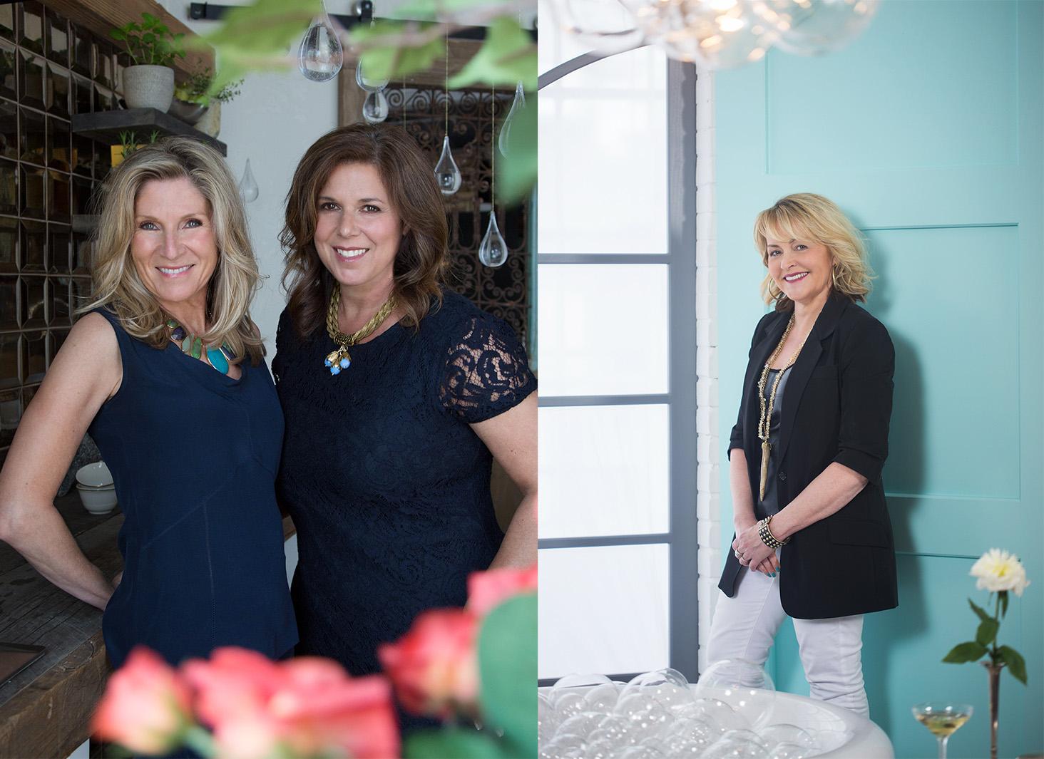 Lori Gilder/Rebecca Reynolds and Lisa Mende for the 2015 DXV Design Panel