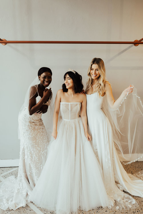 1156c98a388d First Step: Find the Gown. Next: Complete your Bridal Look