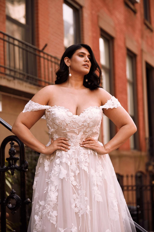 Best Plus Size Wedding Dresses A Be Bridal Shop