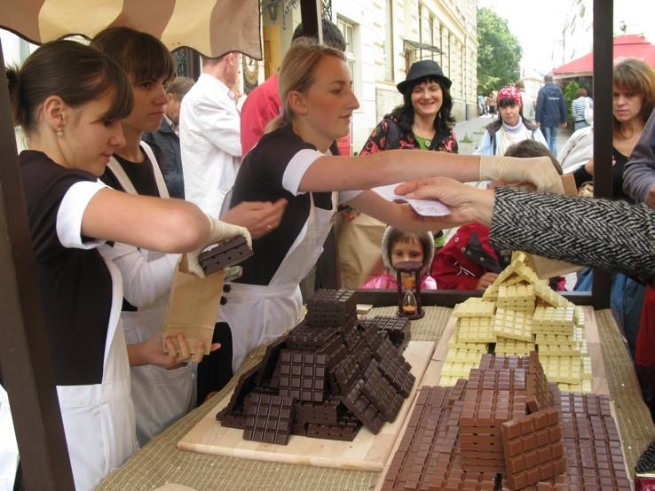 Lviv is for chocolate-lovers! Photo: Львівської Майстерні Шоколаду