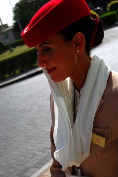 Zehra Fattah during her flying days