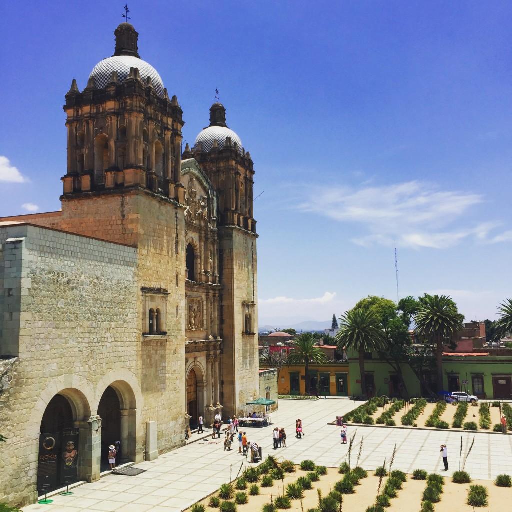 The 1570-built Santo Domingo de Guzmán Church.
