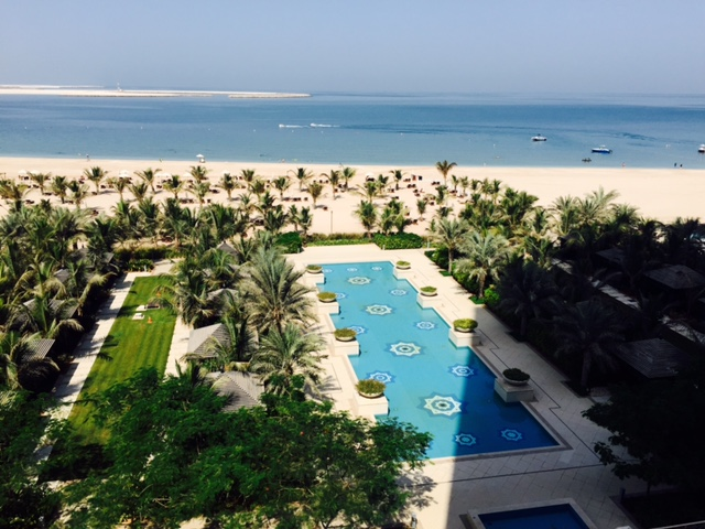 The exquisite Waldorf Astoria at Ras Al Khaimah