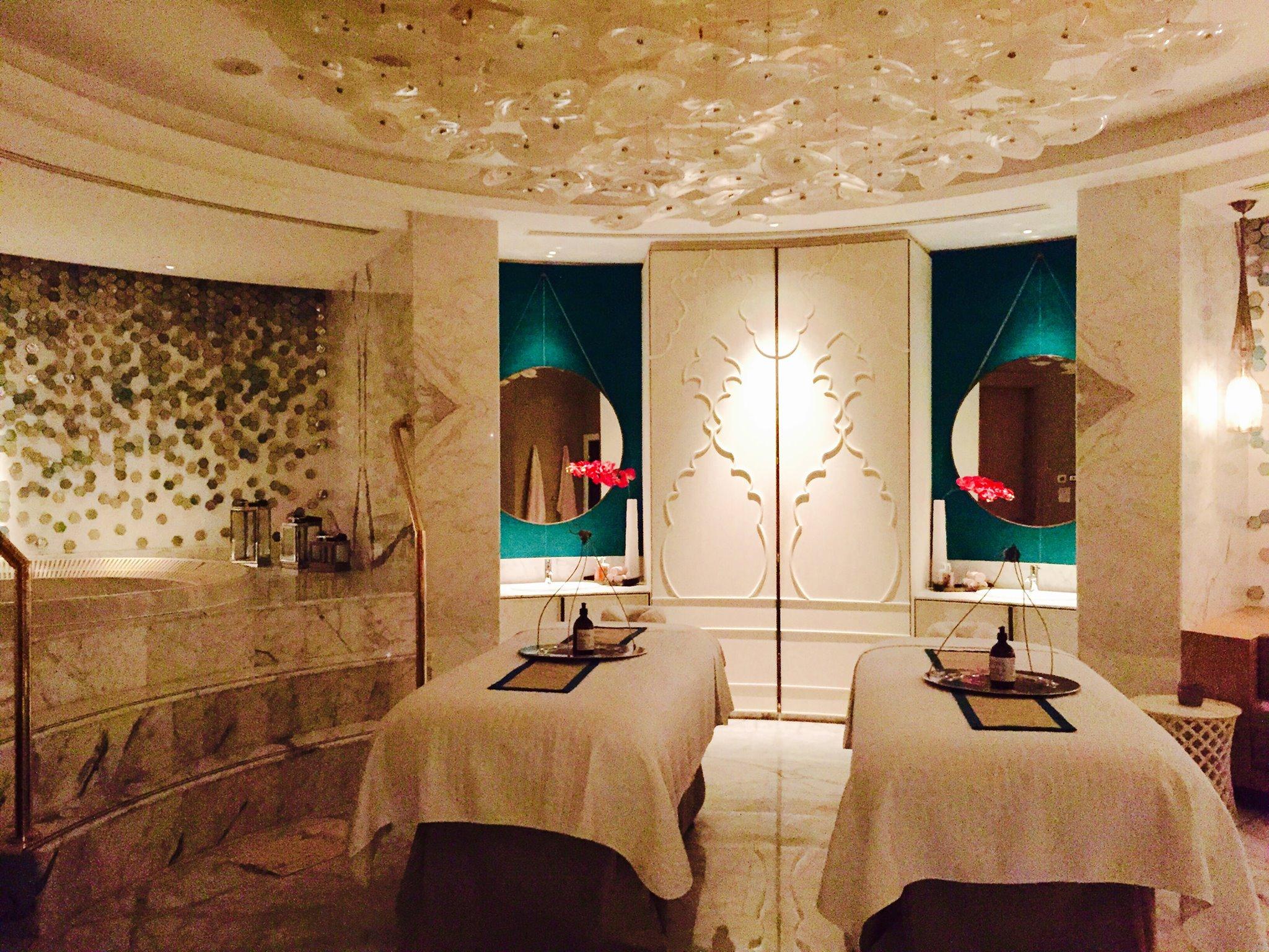 The sublime Spa at the Waldorf Astoria RAK