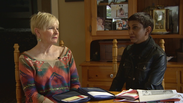 Sheila Young, left, and Esther Sinanan missed out on a 16-day trip to Europe because of what Air Canada is calling 'miscommunication' between computers. (CBC)