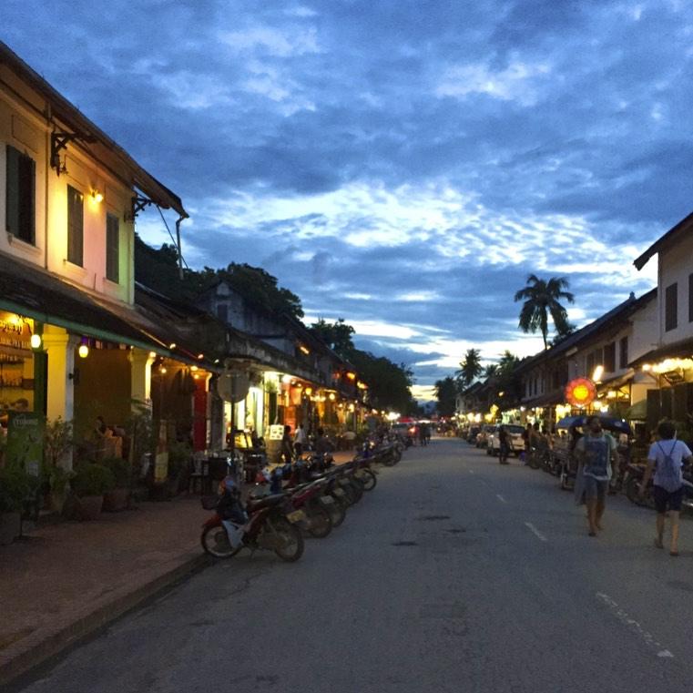 Charming Old Town of Luang Prabang