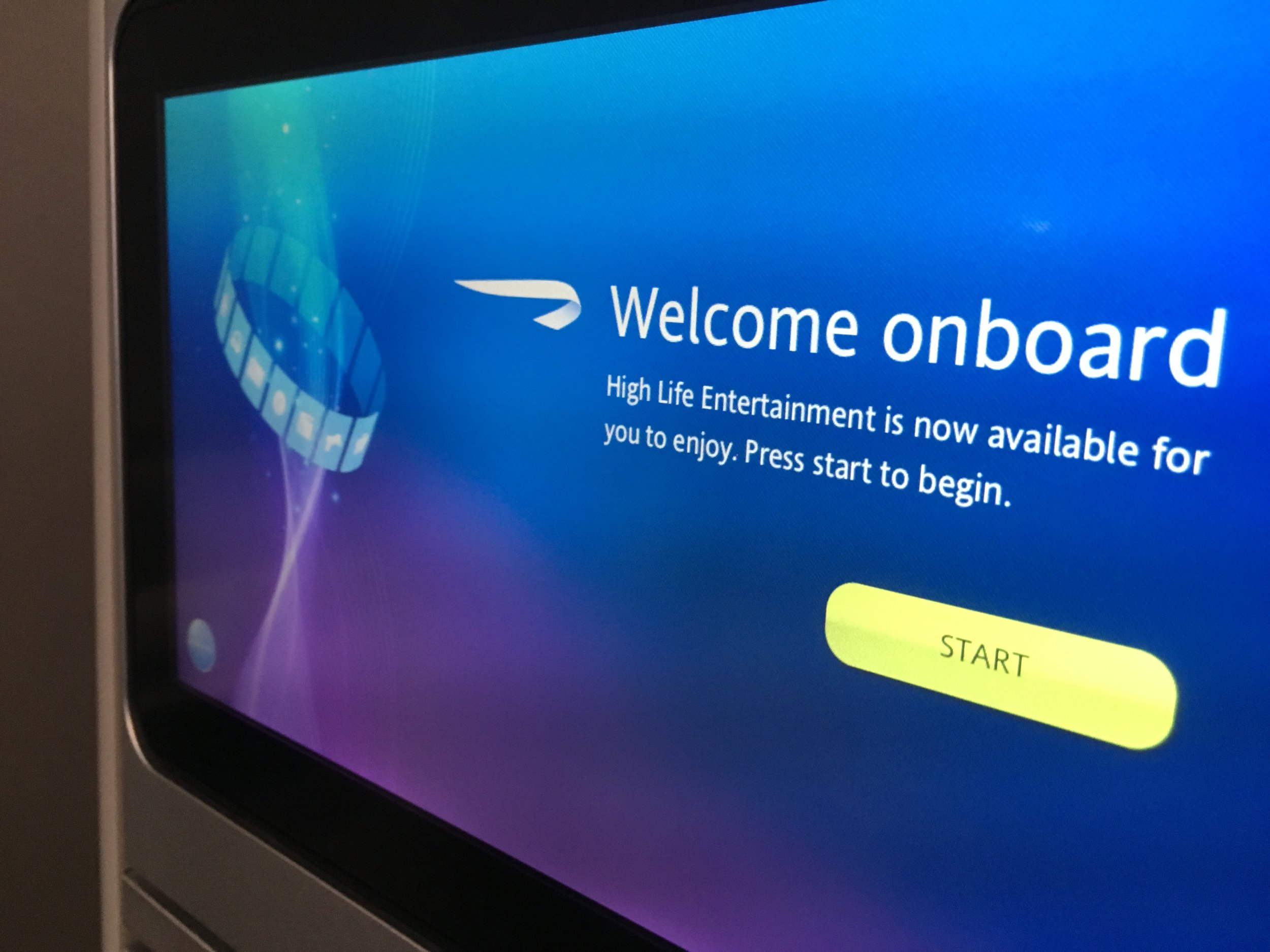 The inflight entertainment system features large screens, easy-to-use touch-screen controls and a wide selections of movies, TV and other content.