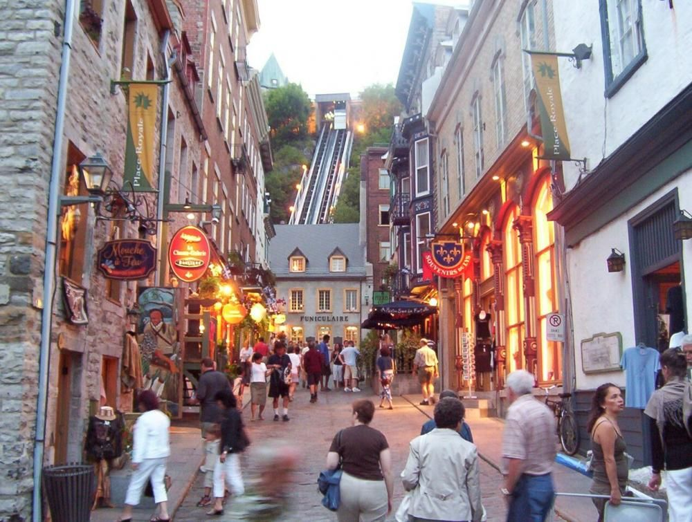 The vibrant heart of Quebec's Old City