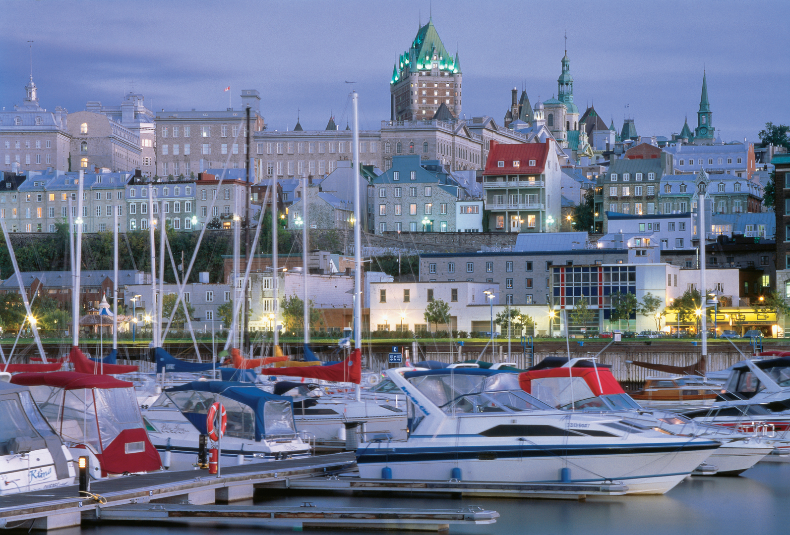 The Quebec City port. Credit:  Luc-Antoine Couturier
