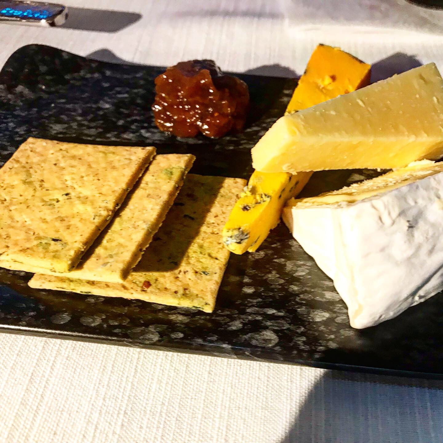 A selection of British and Continental Cheeses