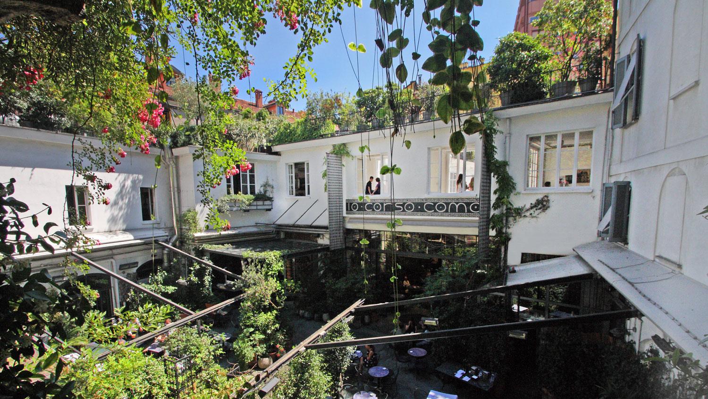 The wonderful oasis near Stazione Garibaldi, 10 Corso Como