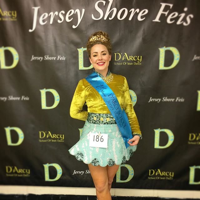 After lots and lots of hard work the goal is just a little bit closer!! A first place in Prelim Championship this weekend at #jerseyshorefeis2019 and just one more until Open Champion! It is so meaningful to have won one in the Mid-Atlantic region where it all began for me! So proud to achieve this with the @mckeeverschoolofirishdance!! More exclamation marks!! #irishdancing #seniorladies #idmfeisfun #jerseyshorefeis #feisweekend #westernregionirishdancers