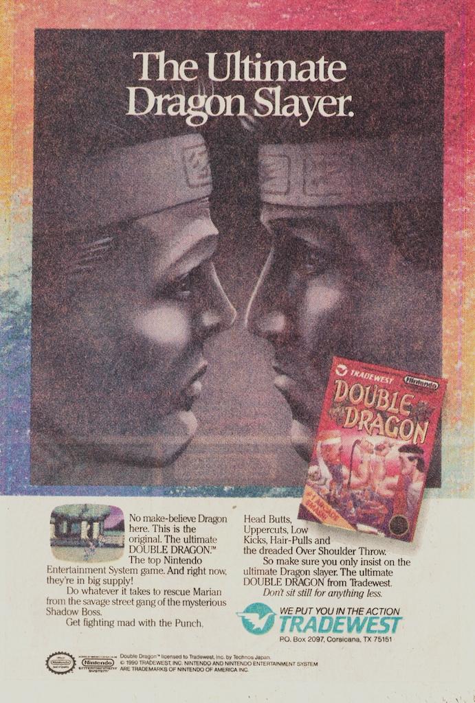 Double Dragon ad #2