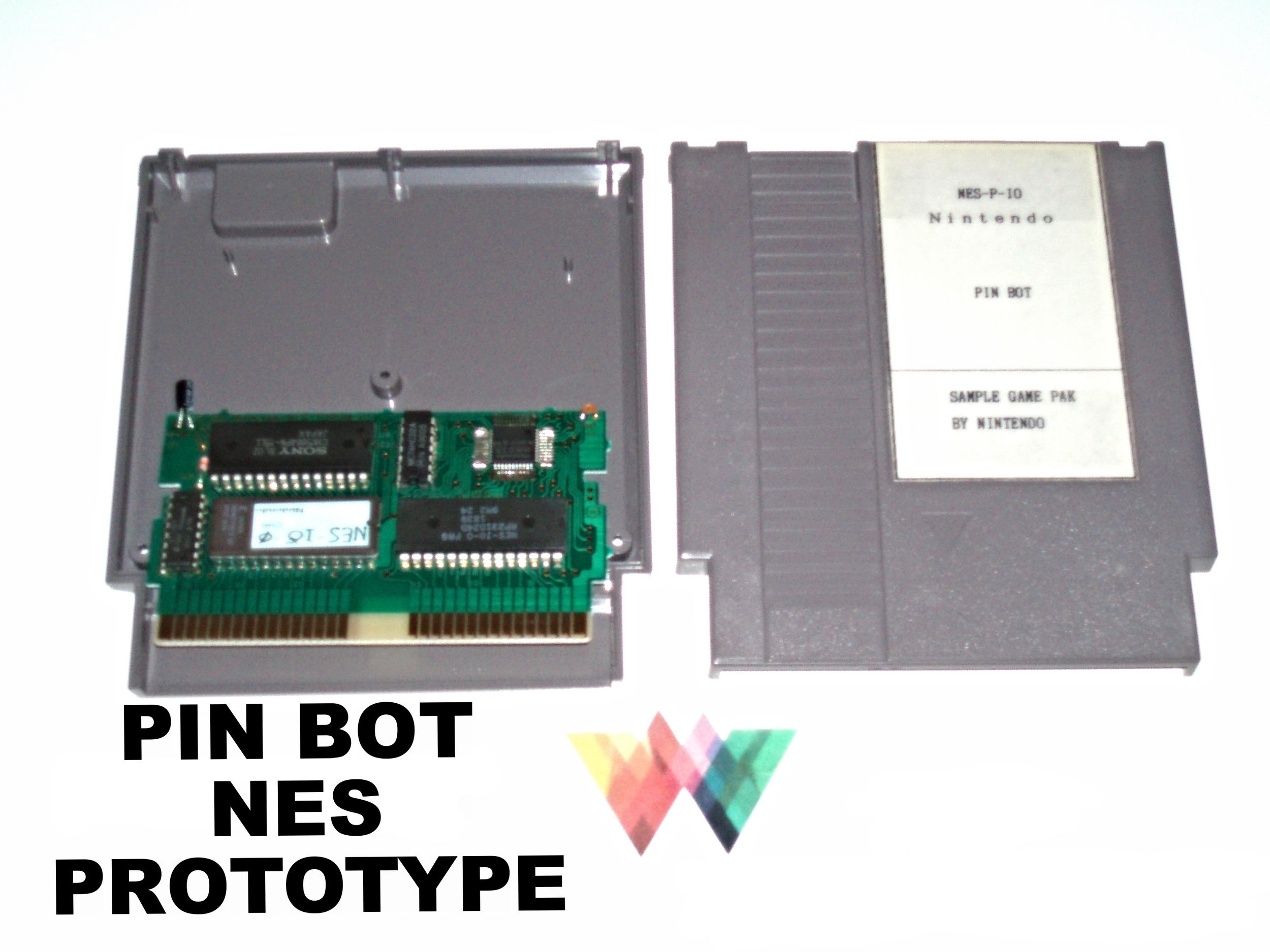 Pin Bot Sample Prototype