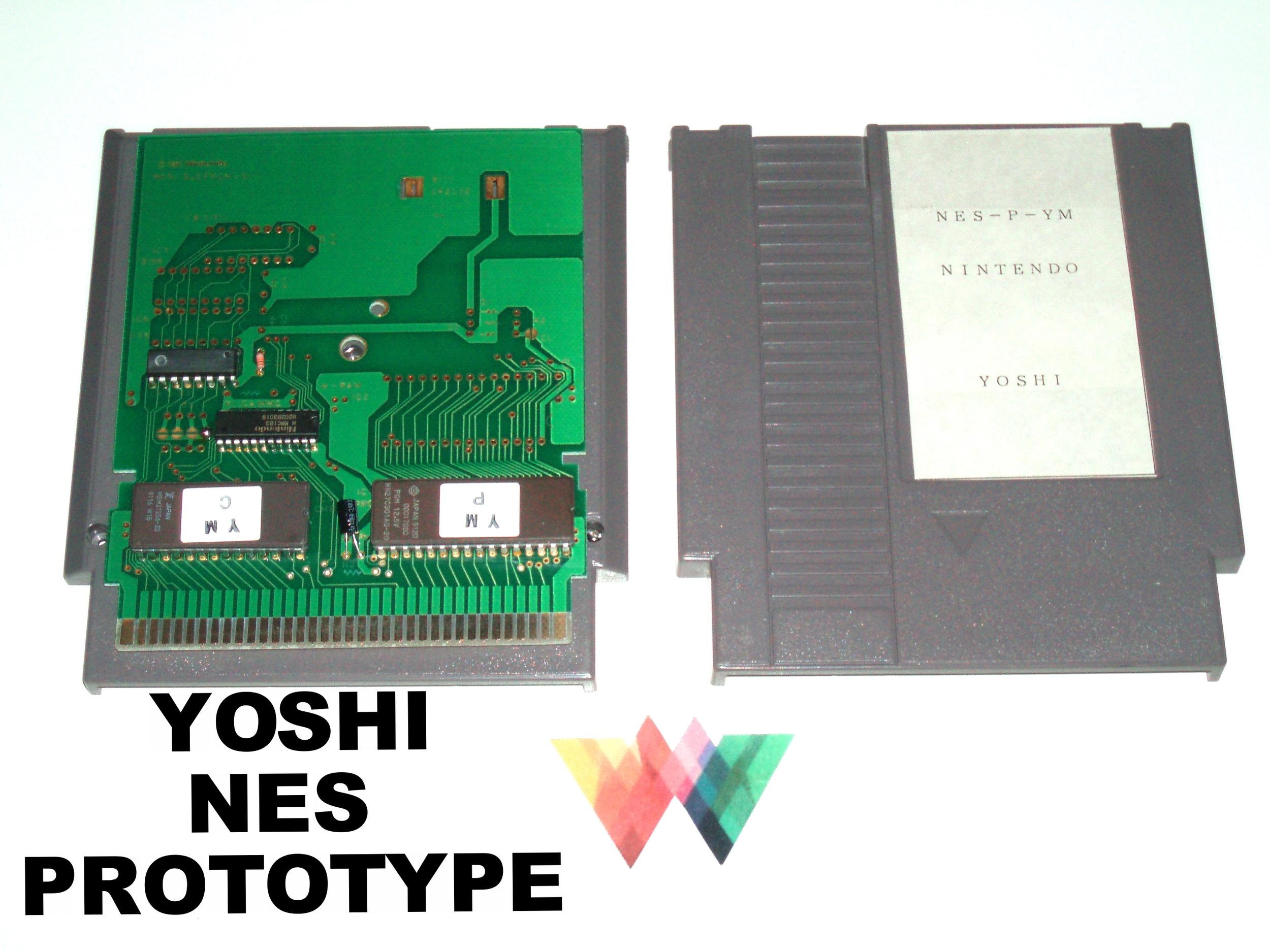 Yoshi NES Prototype
