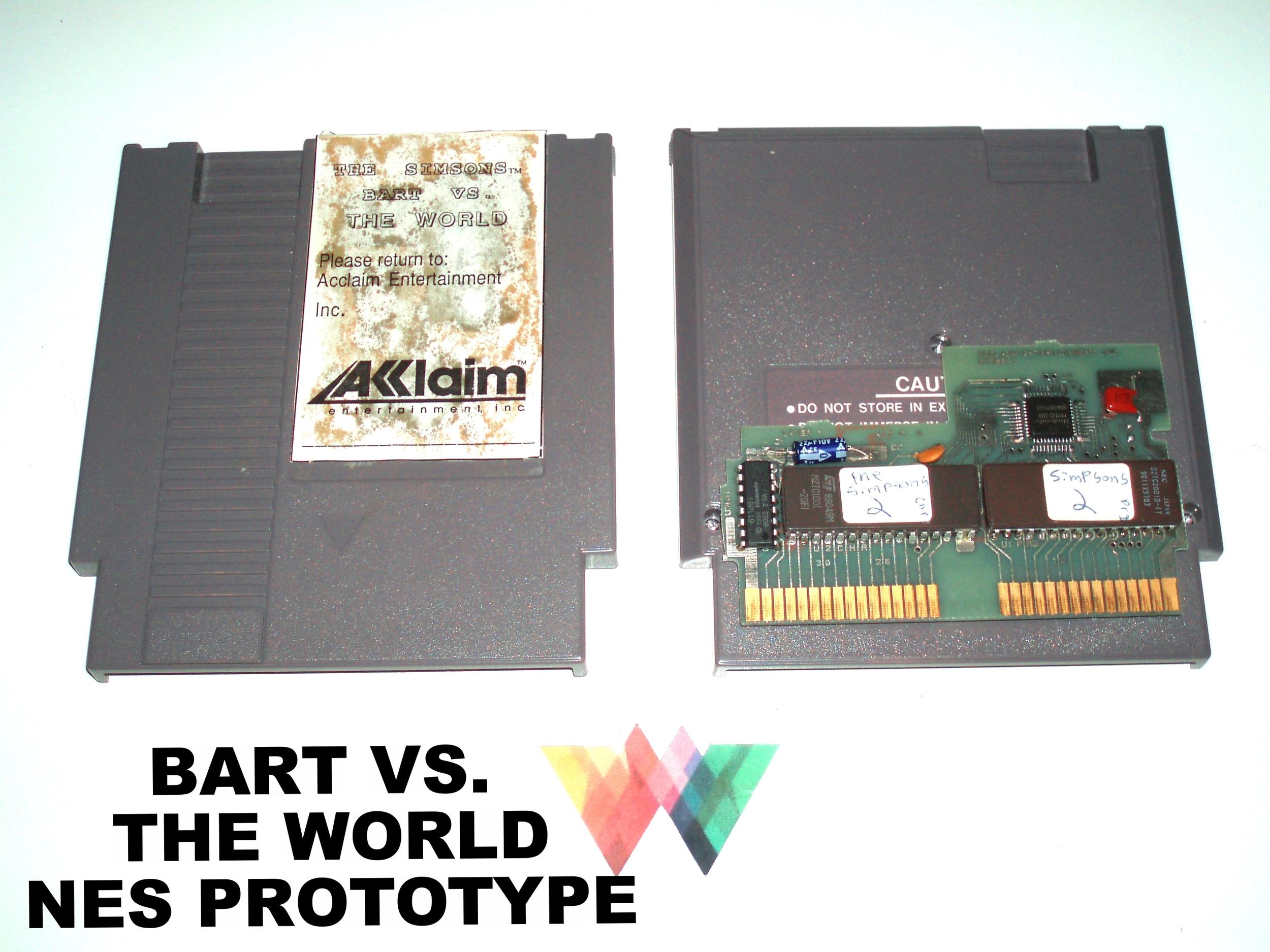 Bart Vs. The World Prototype