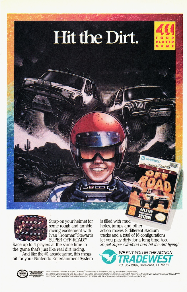 Four Player Fun - Super Off Road on Nintendo NES?! Yes, please :)