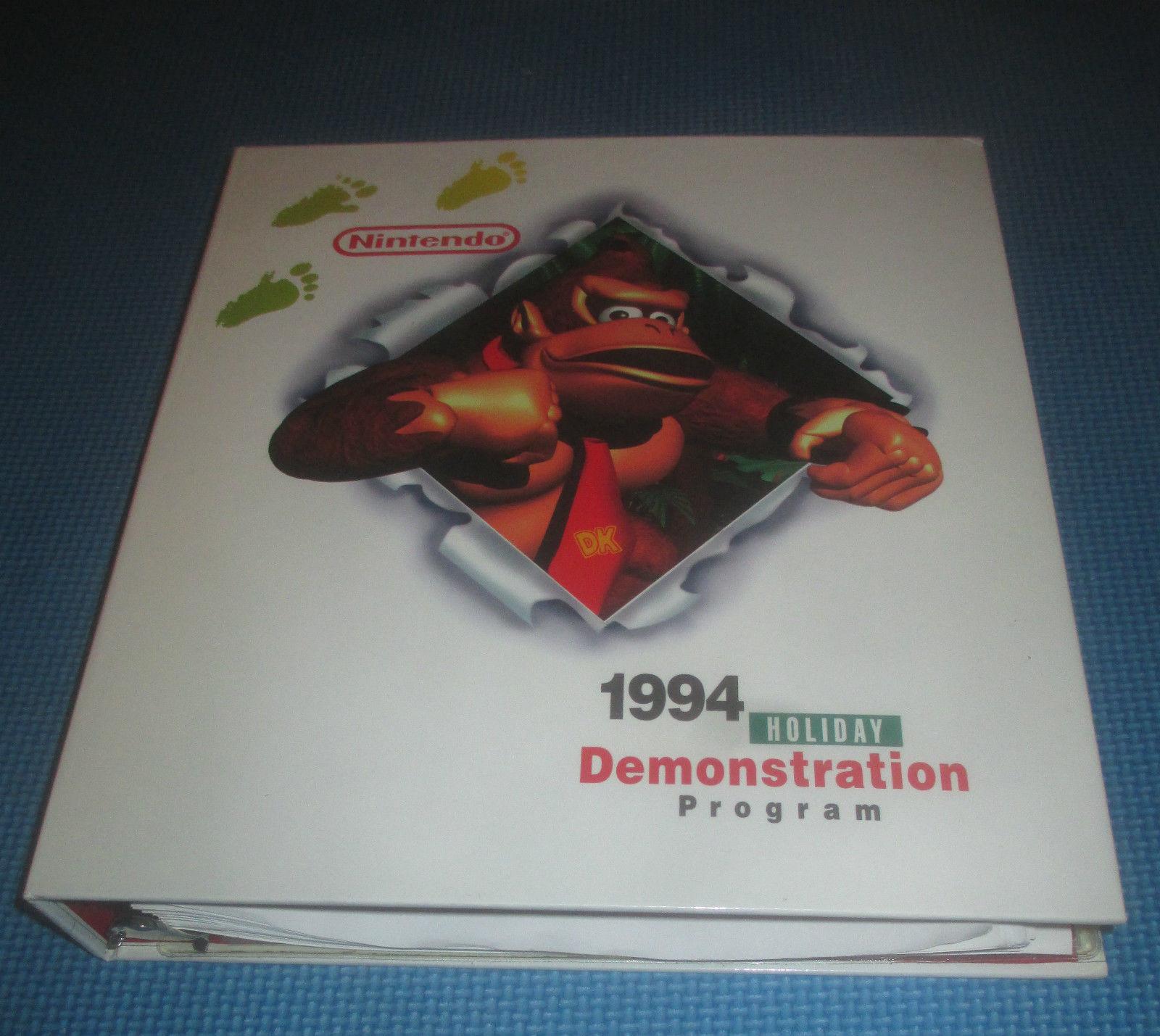 1994 Holiday Demonstration Program