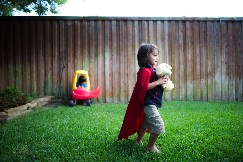 ...being a superhero