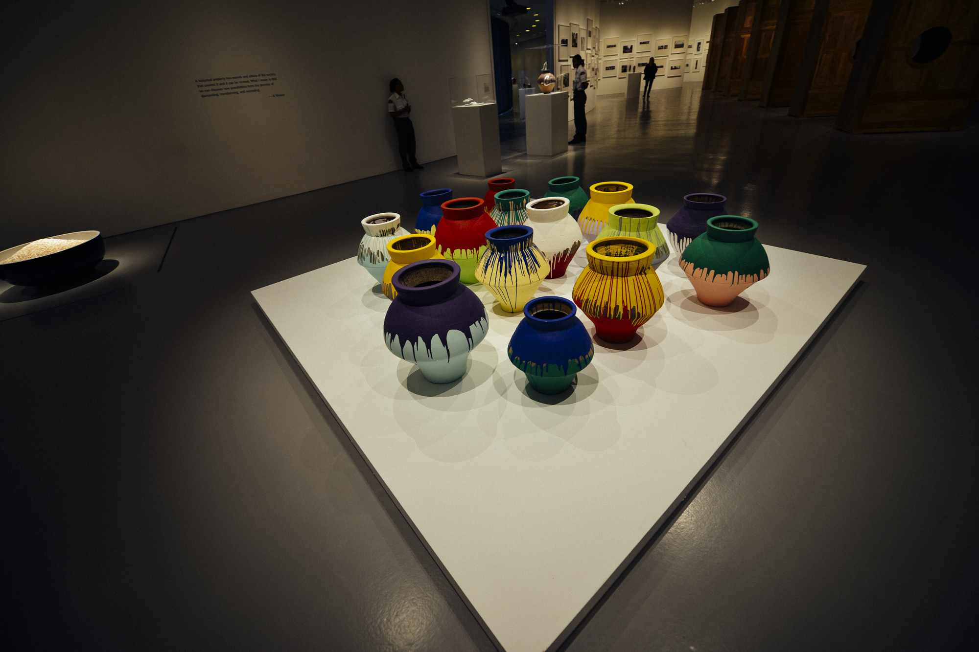 Colored Vases  , 2007-2010.