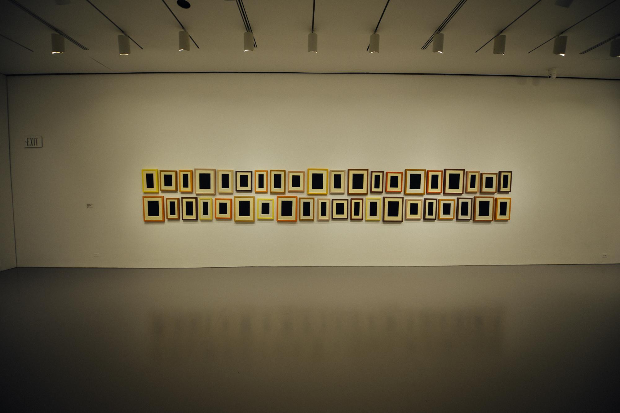 """Allan McCollum's """"40 Plaster Surrogates"""" (1982-90)"""