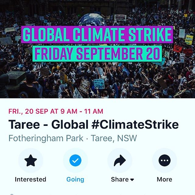 Climatestrike details for locals. Check out their website for your local strike if you don't live on the mid north coast x