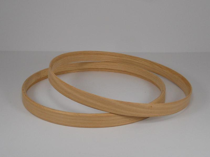 Red oakHide-A-Head hoops