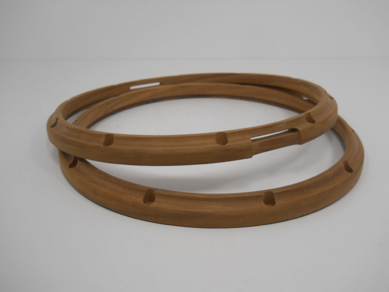 Walnut thick ply hoops