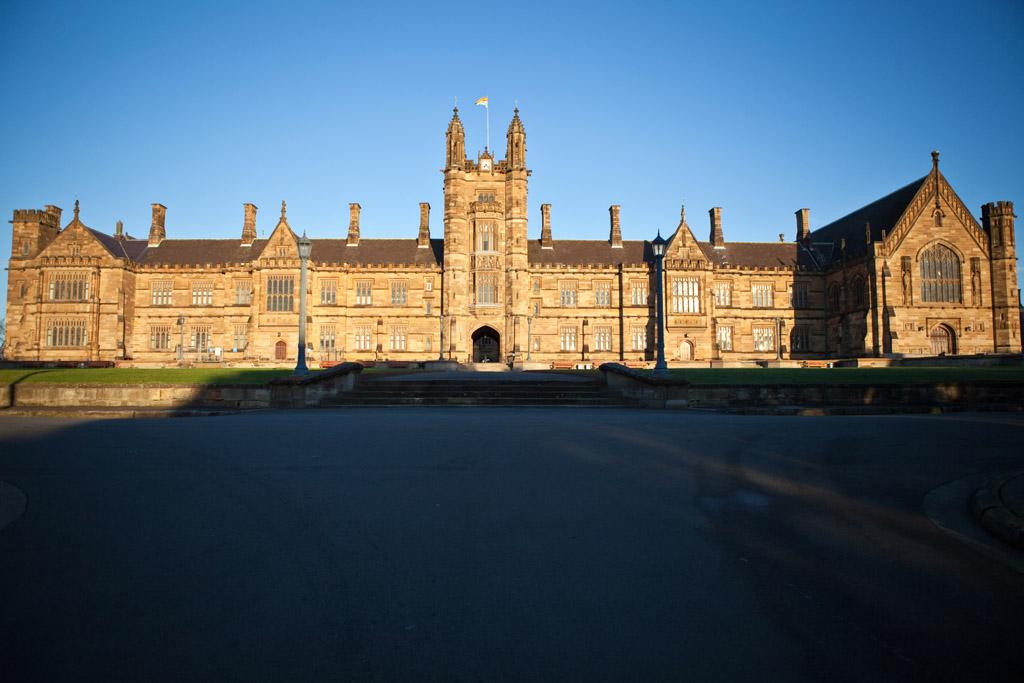 Main Quadrangle 1, Sydney University 2011